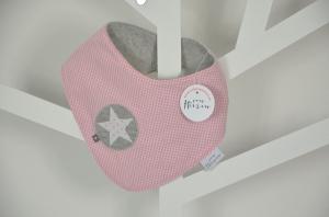 Baby-Wendehalstuch mit Sternapplikation