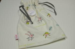 Ökostoff-Säckchen (für Bauchweh-Ente)